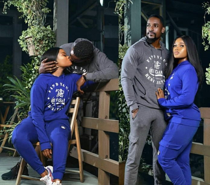 A3BFD2CD 8744 4167 8F36 C152468D63BB - Reality Star, Cee-C Shares Loving Kiss With Actor Mawuli Gavor (Photo)