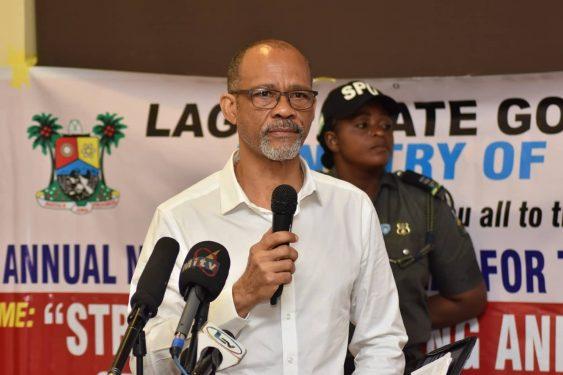 Lagos state commissioner for health, Akin Abayomi