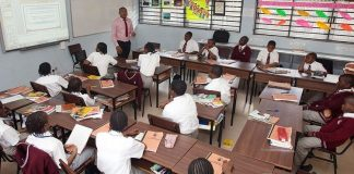 A classrom