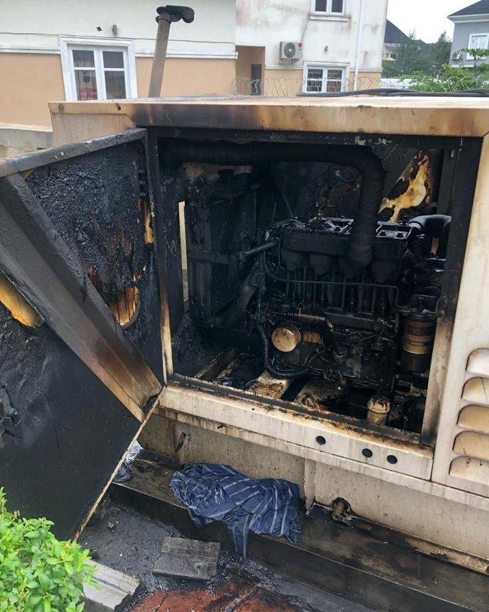 Photo of the generator