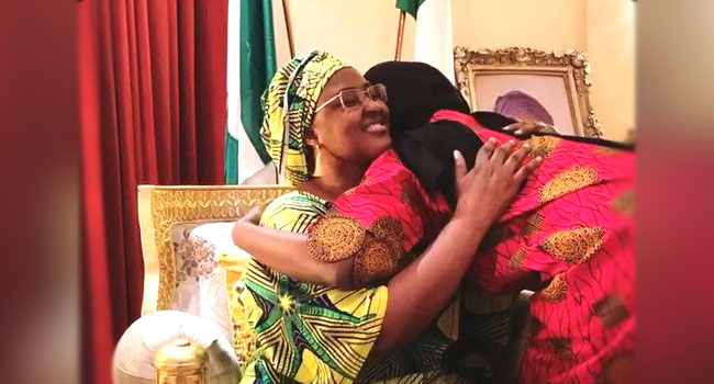COVID-19: Buhari's Daughter Reunites With Family After 14 Days In Isolation