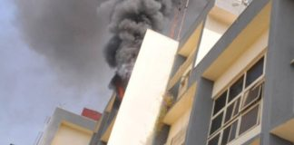 Fire guts INEC Office in Abuja