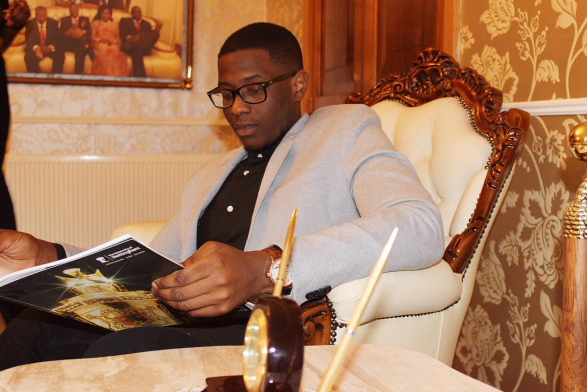 Disability Should Never Limit You – Gbenga Daniel's Son
