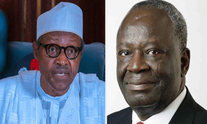 Buhari and Ibrahim Gambari
