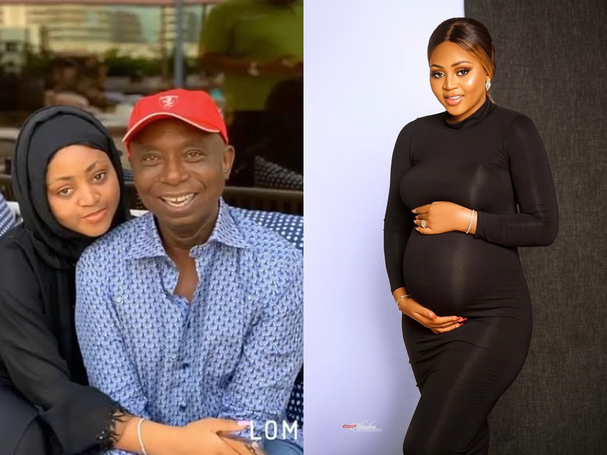 Ned Nwoko Finally Announces Regina Daniels Is Expecting A Baby (Photo)