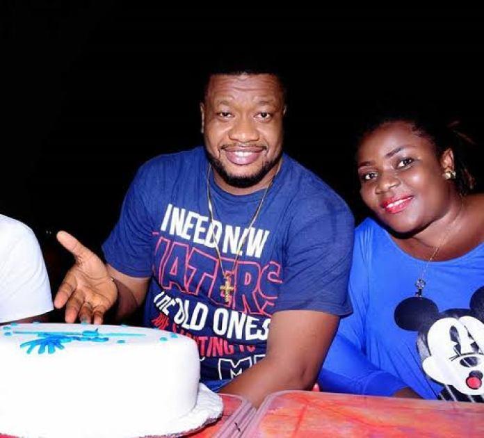 Browny Igboegwu and his wife