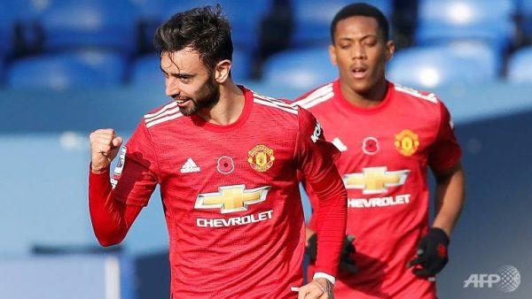 Fernandes And Rashford Scores As Manchester United Defeats Granada