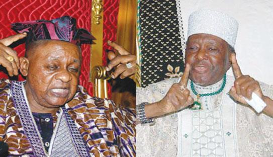 Alaafin of Oyo, Ooni of Ile-Ife
