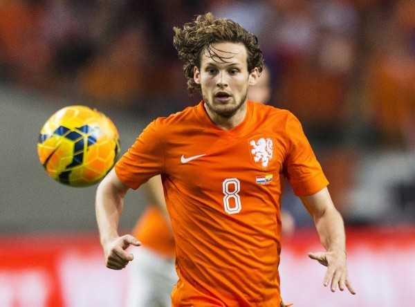 Daley Blind Joins Man United Injury Worries Ahead of Weekend's Clash With Arsenal. Image: Getty.