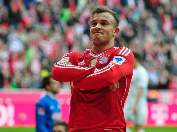 Xherdan Xhaqiri Has Made Eight Bundesliga Appearances for Bayern This Season. Image: Gety.