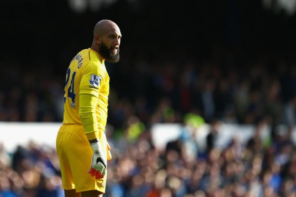 Tim Howard Out for Up to Six Weeks With Injury. Image: Getty.