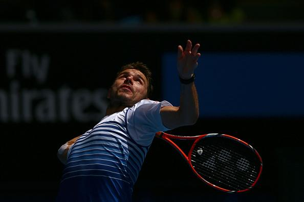 Stanislas Wawrinka Secured His Tenth Consecutive Australian Open Wins in a Row Against Garcia-Lopez. Image: Tennis Australia.