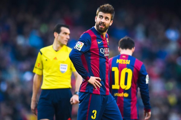 Gerard Pique Says a Barca-Real Final Will Be Historic. Image: Getty.