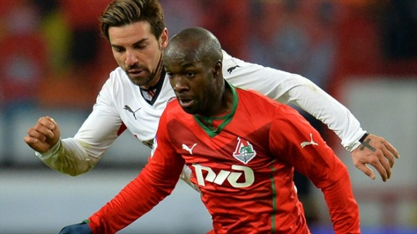 Lassana Diarra Left Lokomotiv Moscow in August 2014 and Has Been Without a Club. Image: AFP/Getty.