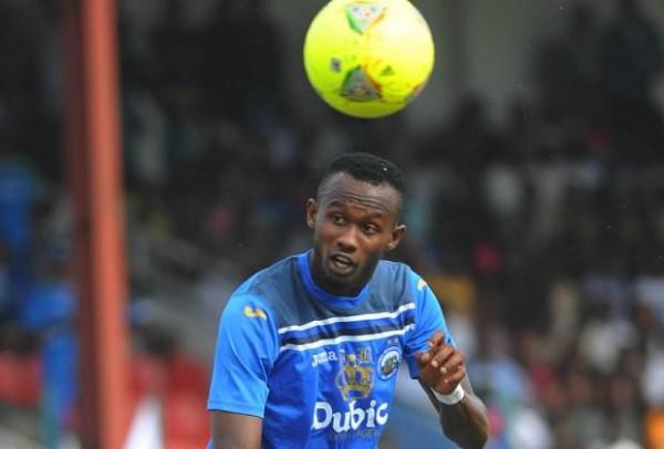 Mfon Udoh Scored a Record 23 Glo Premier League Goals Last Season. Image: Enyimba FC via ShengolPixs.