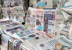 Nigerian newspaper headlines October 30, 2016