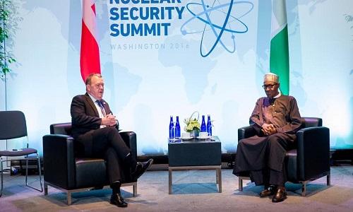 President Muhammadu Buhari-Prime Minister of Denmark-Lars Rasmussen