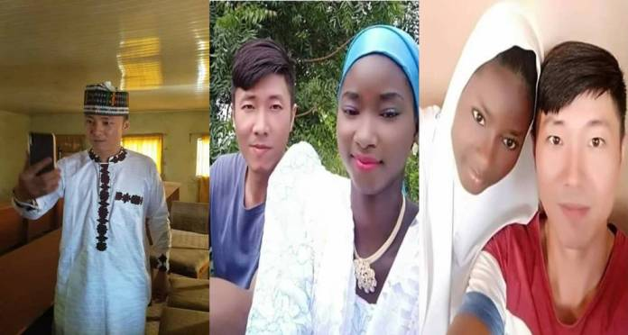 Chinese Man Embraces Islam, Marries Nigerian Muslim Girl (Photos)