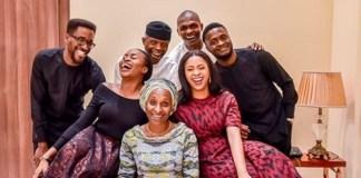 Osinbajo and family