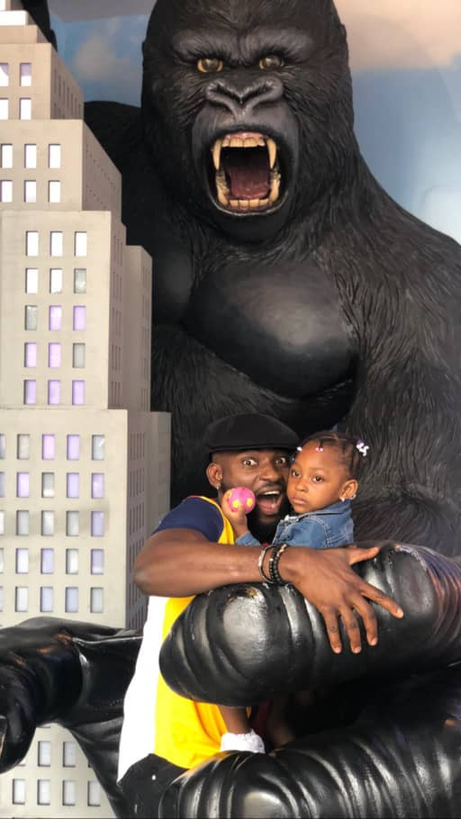 [Photos]: Osas and Gnero Ajibade celebrate their daughter's 3rd birthday in the US