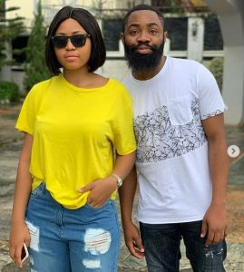 Regina Daniels Flaunts Her Car And Customized Plate Number In New photos