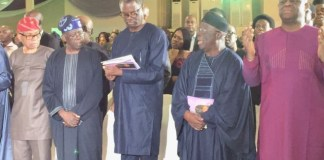 [Photos]: FFK, Tinubu, Gbenga Daniel, Others Attend Tribute Night For Funke Olakunrin