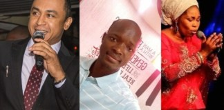 Daddy Freeze, Evangelist Victor Edet and Tope Alabi