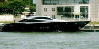 Dangote's Yacht