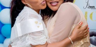 Faithia Balogun Congratulates Toyin Aimakhu On The Birth Of Her Son