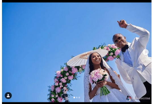 Media Girl Stephanie Coker And Her Husband Olumide Aderinokun Celebrate Their Second Wedding Anniversary