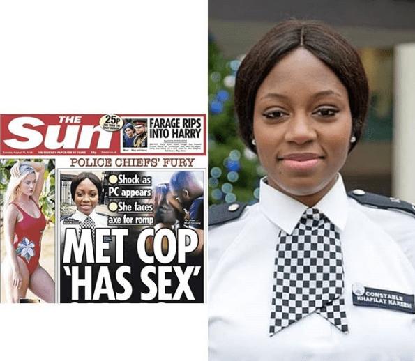 BBNaija's Khafi May Be Sacked By U.K Police Having Sex On The Show