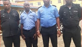 Police officers