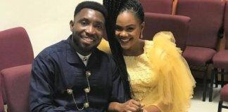 Timi Dakolo and his wife, Busola