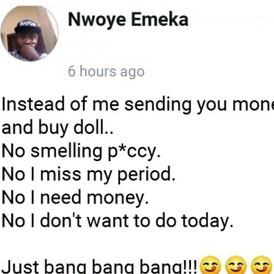 Nigerian Sex Doll