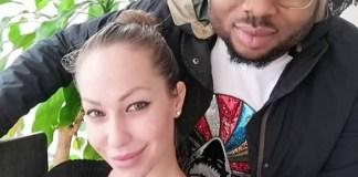 Oladunni Churchill and girlfriend
