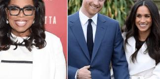 Oprah Winfrey, Meghan Markle, Prince Harry