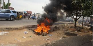 two robbers burnt to death