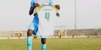 Former Remo Star defender, Tiyaniyu Kazeem (Kaka)