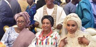 El-Rufai and his three wives, Hadiza, Asia and Ummi