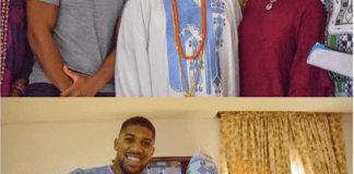 Anthony Joshua and Ogun Monarch