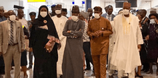 Nigerians wearing nose mask against coronavirus