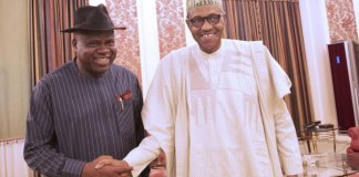 Photo of president Buhari and Governor Douye Diri at the presidential Villa
