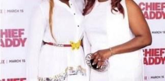 Funke Akindele and Ini Edo