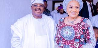 Ajimobi and wife