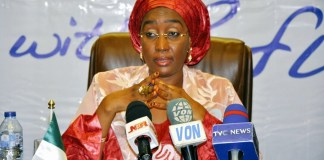 Minister for Humanitarian Affairs, Disaster Management and Social Development, Sadiya Umar Farouk