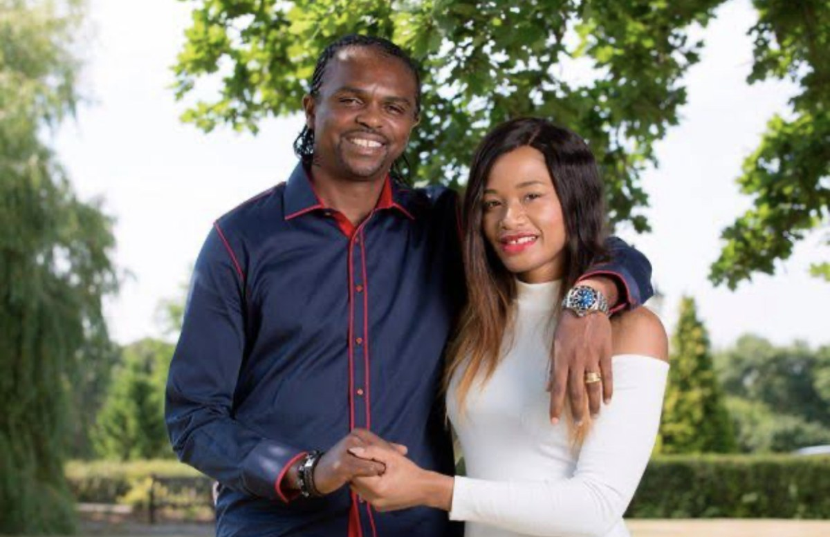 Kanu Nwankwo Celebrates 17 Years Anniversary With Wife (Photo)