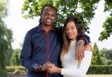 Kanu Nwankwo and his wife, Amara Kanu