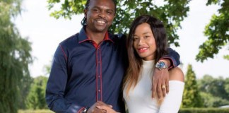 Kanu Nwankwo and his wife, Amara Kanu