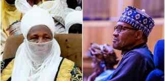 President Buhari and Late Emir of Rano