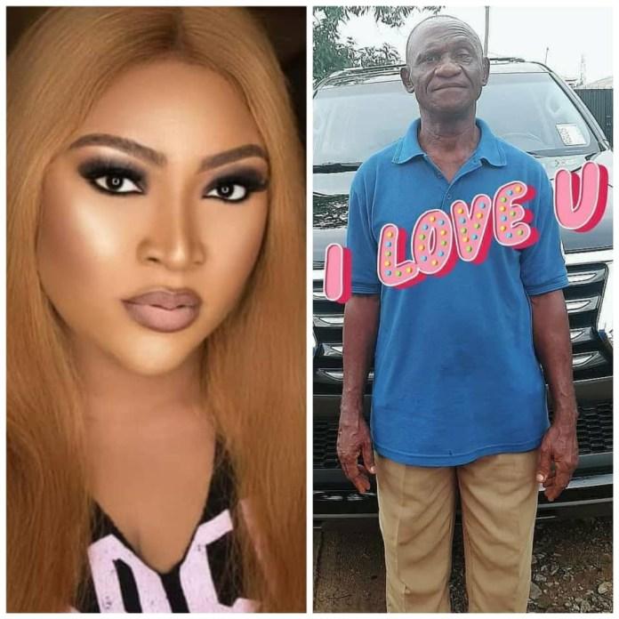 Uche Elendu and her father